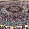 Mandala Hippie Elephant Bohemian Tapestry Wall Hanging Boho Bedspread - Large/Queen 5