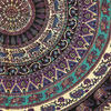 Mandala Hippie Elephant Bohemian Tapestry Wall Hanging Boho Bedspread - Queen/Double 6