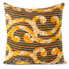 Colorful Vintage Kantha Decorative Sofa Throw Pillow Bohemian Boho Couch Cushion Cover - 18""