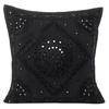 "Black Mirror Embroidered Boho Colorful Decorative Sofa Throw Couch Pillow Cushion Cover - 16 to 24"" 1"