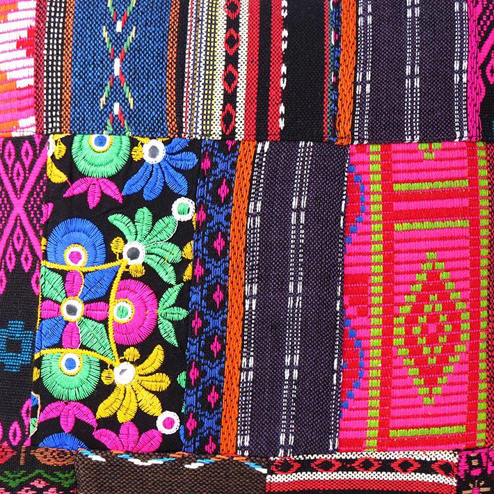 Black Pink Dhurrie Patchwork Bohemian Kilim Decorative Throw Sofa Cushion Pillow Cover - 16 ...