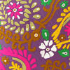 "Purple Colorful Decorative Embroidered Bohemian Sofa Throw Couch Pillow Boho Cushion Cover - 16"" 2"