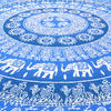 Colorful Elephant Ombre Hippie Mandala Tapestry Bohemian Bedspread - Large/Queen 3