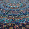 Large Queen Blue Indian Hippie Mandala Tapestry Bedspread Beach Blanket Dorm Bohemian Accent Boho Chic Handmade 4
