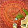 Large Queen   Red Elephant Boho Bohemian Indian Mandala Tapes 2