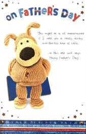 Boofle Brilliant Dad Pop Out Father's Day Card