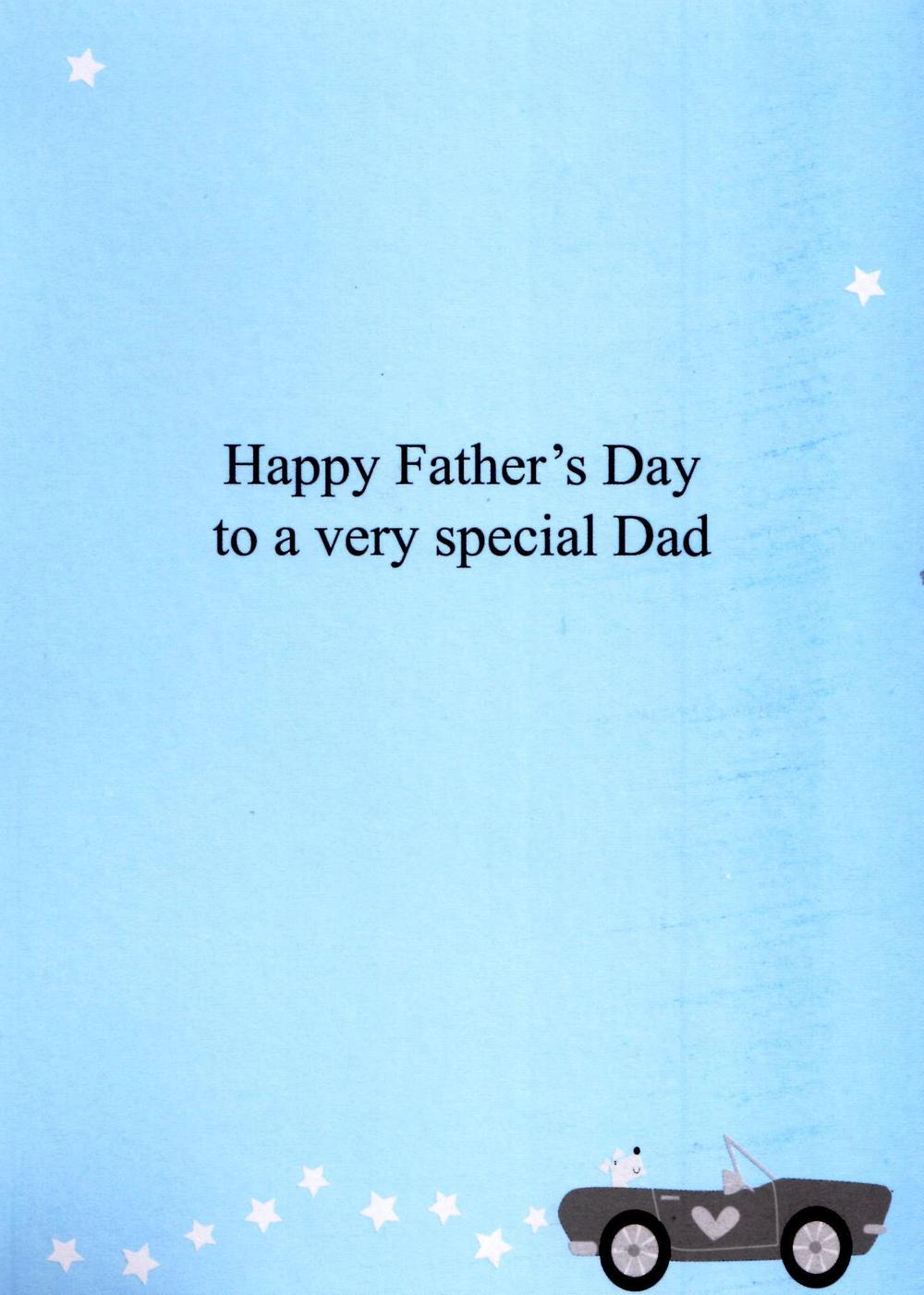 Happy Father S Day Dad Special Greeting Card Cards