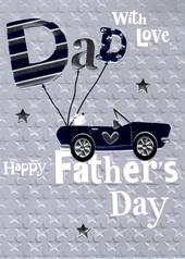 Happy Father's Day Dad Special Greeting Card