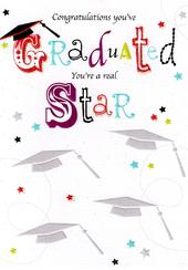 Congratulations You've Graduated Greeting Card