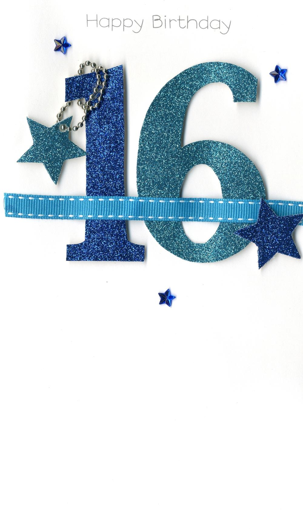 16th Special Age 16 Birthday Greeting Card
