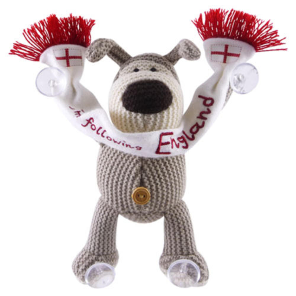 Boofle Holding England Scarf Suction Pads Stick On Car Window