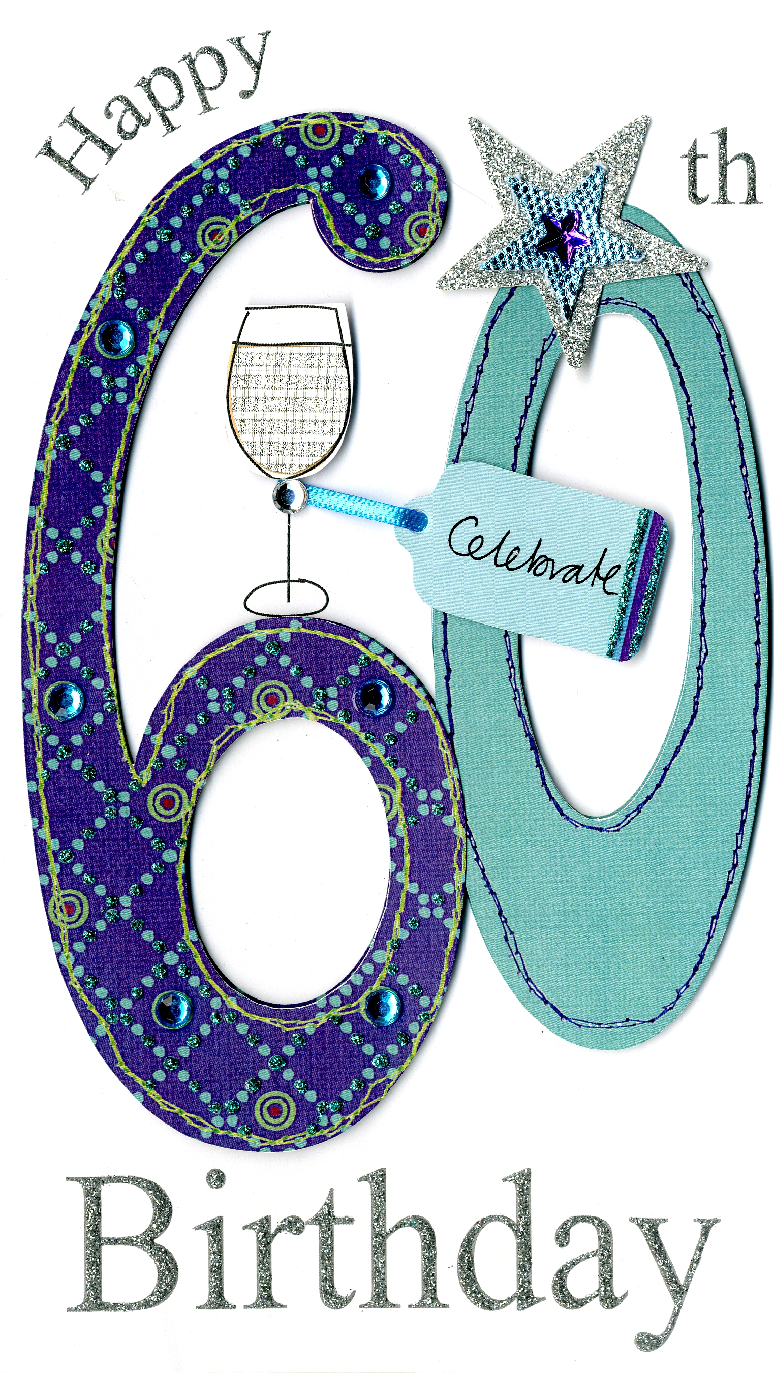 gorgeous 60th age 60 birthday greeting card cards love