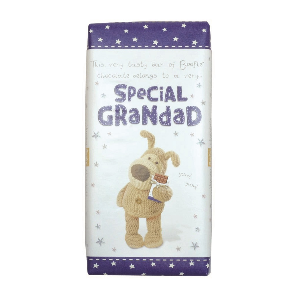 Boofle Special Grandad Bar Chocolate Gift
