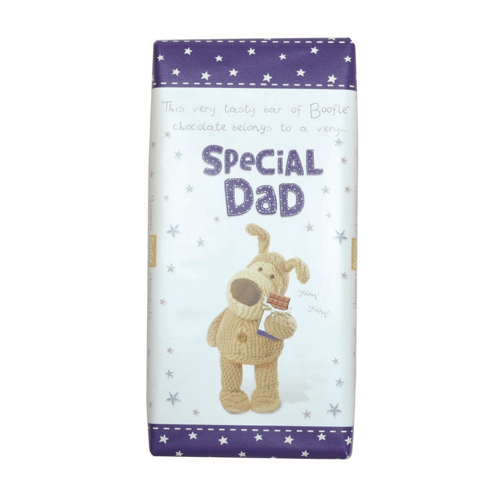 Boofle Special Dad Bar Chocolate Gift