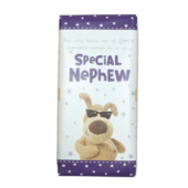 Boofle Special Nephew Bar Chocolate Gift