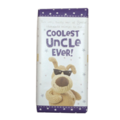 Boofle Coolest Uncle Ever Bar Chocolate Gift
