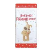 Boofle Bestest Friend Ever Bar Chocolate Gift