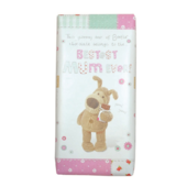 Boofle Bestest Mum Ever Bar Chocolate Gift