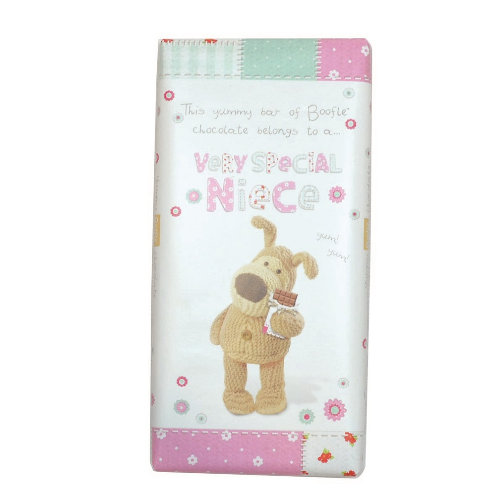 Boofle Very Special Niece Bar Chocolate Gift