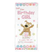 Boofle Birthday Girl Bar Chocolate Gift