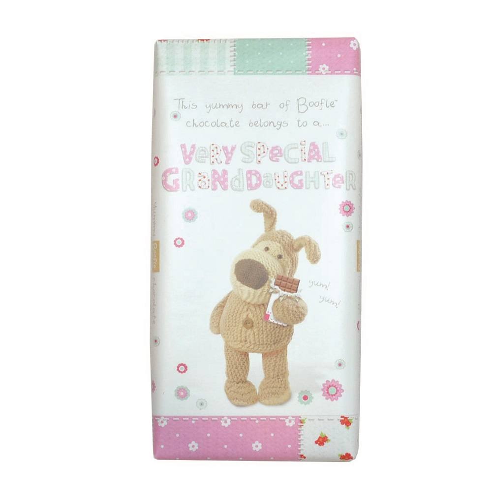Boofle Very Special Granddaughter Bar Chocolate