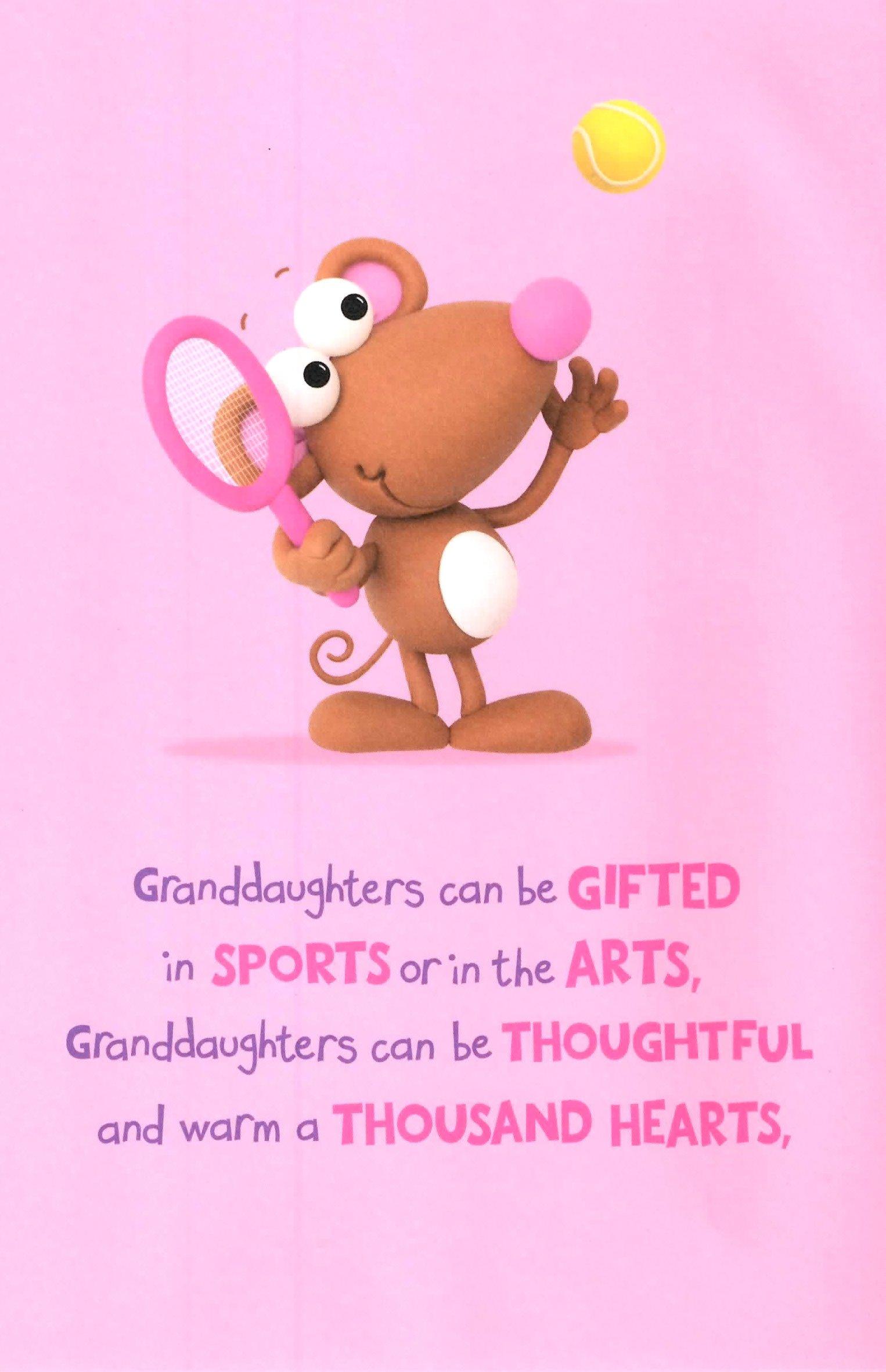 Sentinel Cute Wonderful Granddaughter Birthday Greeting Card Crackers Range Cards New