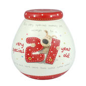 Boofle Very Special 21 Year Old Money Pot