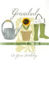 Special Grandad Gardening Birthday Greeting Card