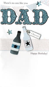 Dad No One Like You Birthday Greeting Card