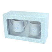 Blue Mummy & Baby Mugs Love Home Gift Set