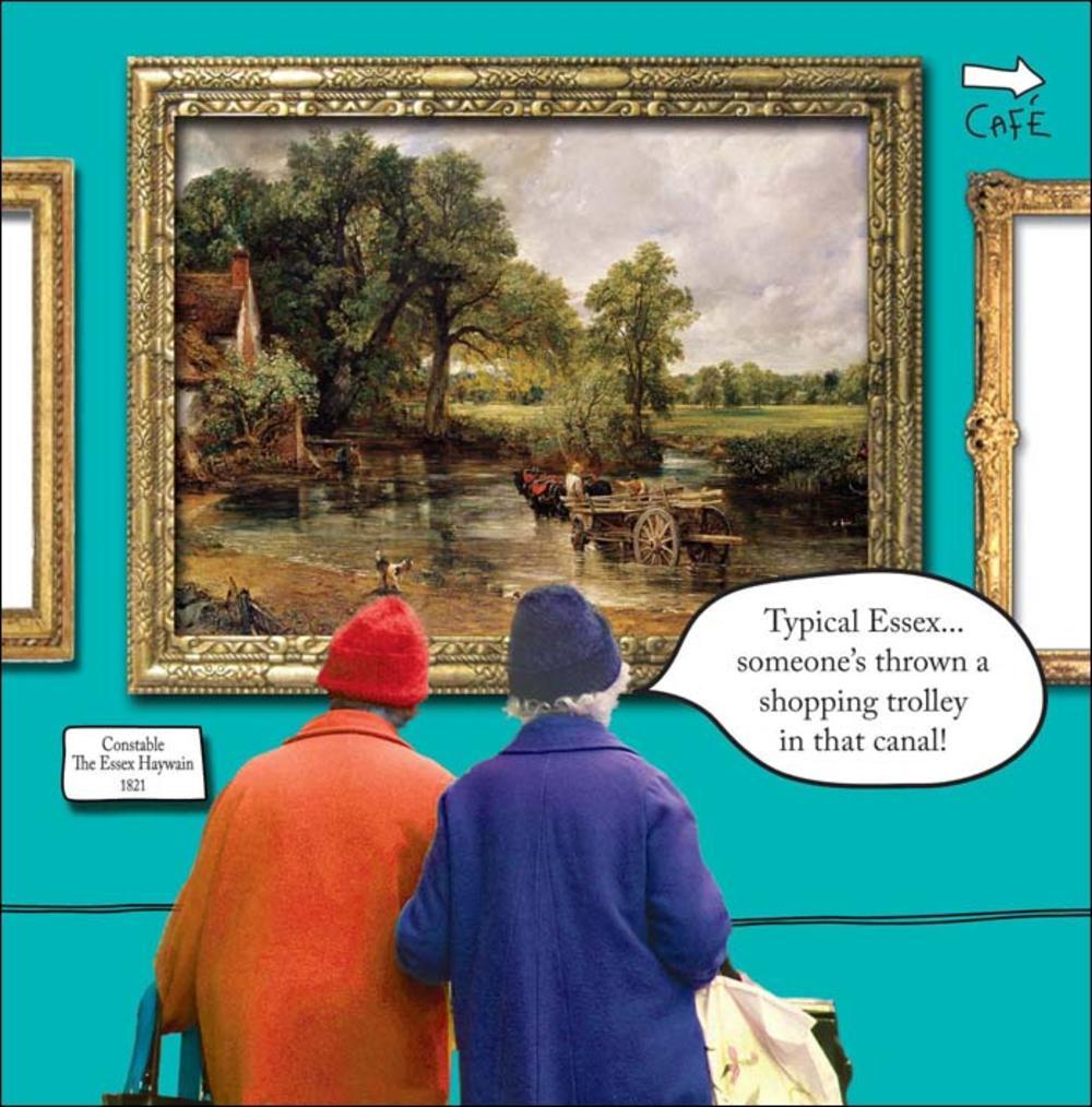 Typical Essex Irene & Gladys Humour Birthday Card