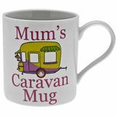 Mum's Caravan Mug Fine China Mugs in Gift Box