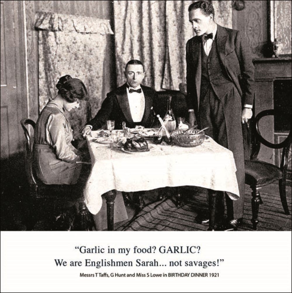 Englishmen Not Savages Funny Birthday Greeting Card