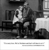 We're Northern Funny Birthday Greeting Card