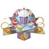 Cupcake Pop-Up Greeting Card