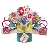 Flowers For You Pop-Up Greeting Card