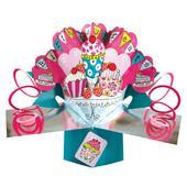 Birthday Treats Pop-Up Greeting Card