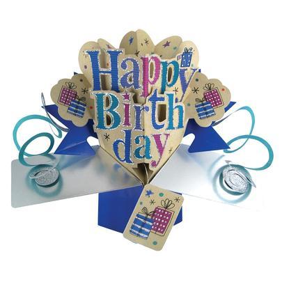 Happy Birthday Pop-Up Greeting Card | Pop Up Cards | Birthday Cards