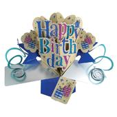 Happy Birthday Pop-Up Greeting Card | Pop Up Cards | Birthday Cards