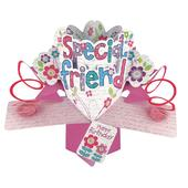 Special Friend Birthday Pop-Up Greeting Card