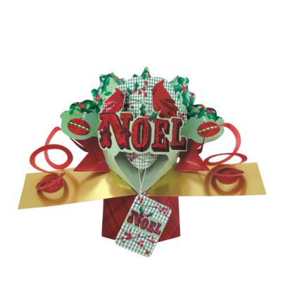 Noel Petite Christmas Pop-Up Greeting Card