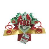 Noel Petite Christmas Pop-Up Greeting Card