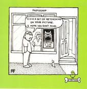 Vicious Dog Square Cartoon Humour Greeting Card
