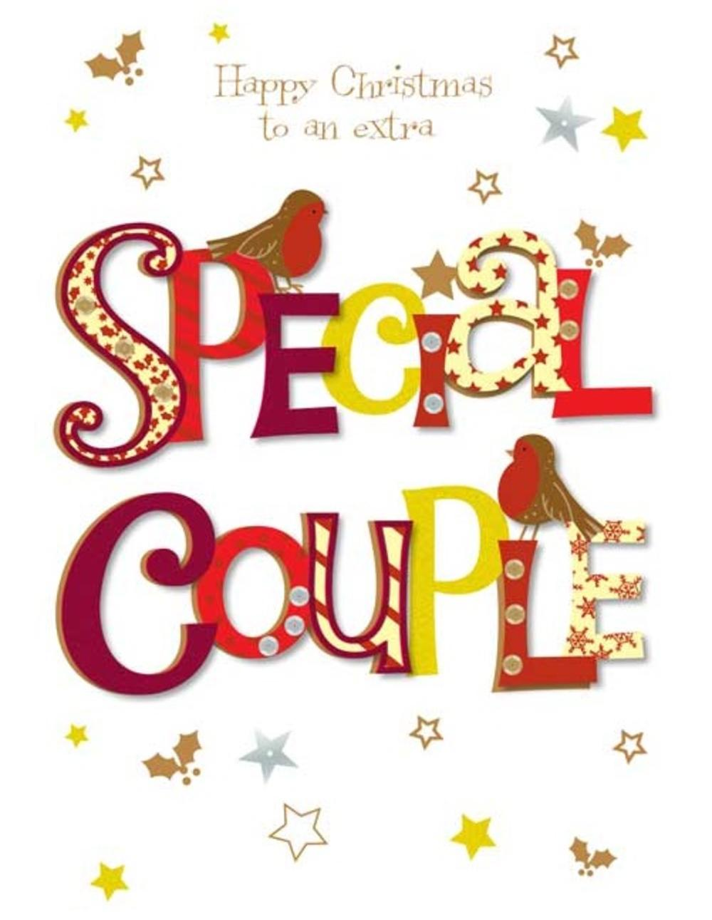 Extra Special Couple Christmas Greeting Card