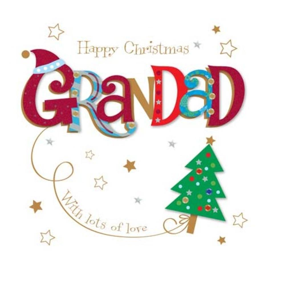 Happy Christmas Grandad Greeting Card