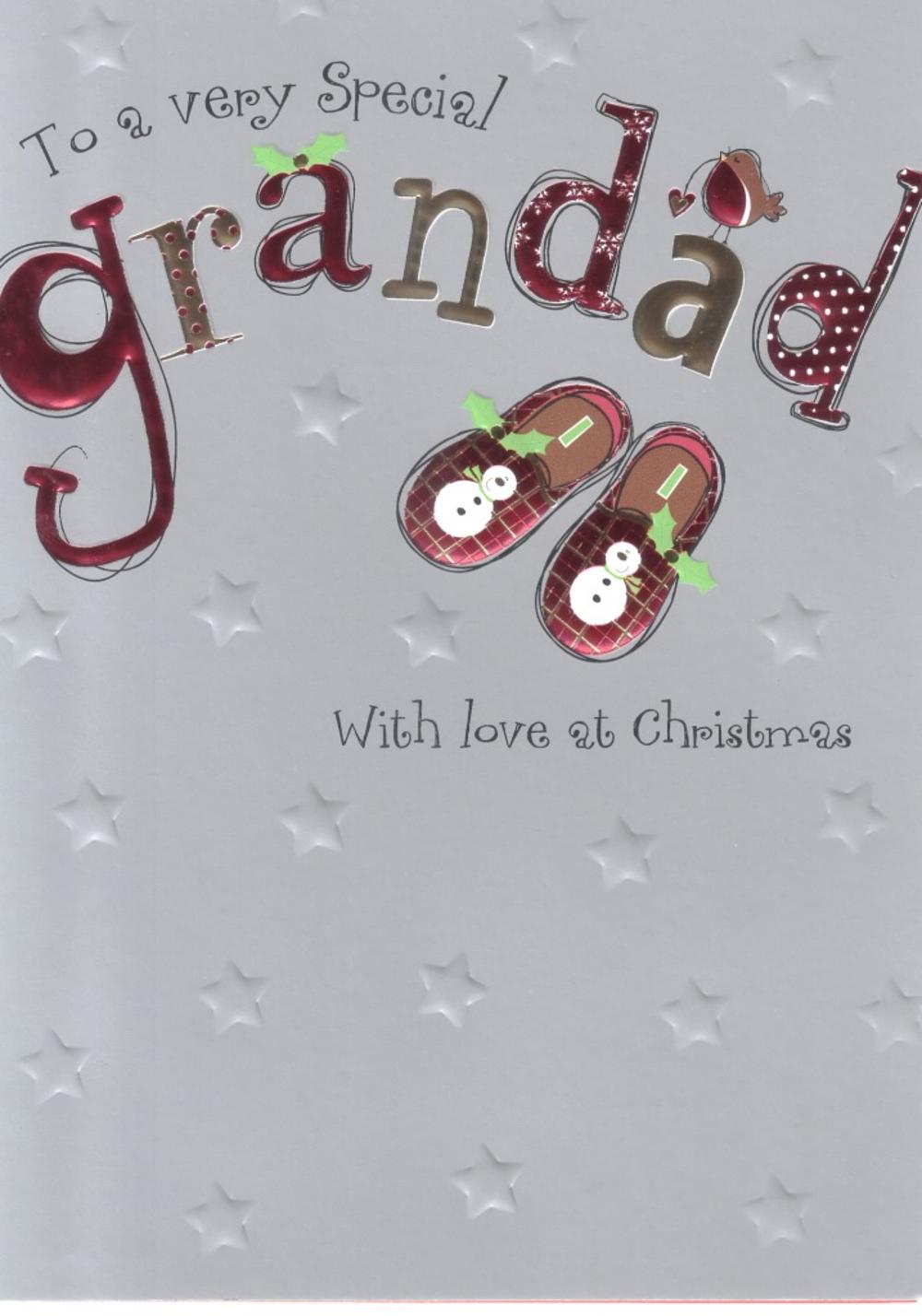 To A Very Special Grandad Christmas Card
