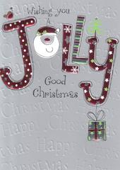 Wishing You A Jolly Good Christmas Card