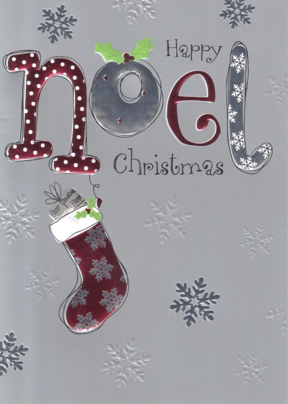 Noel Individual Happy Christmas Card