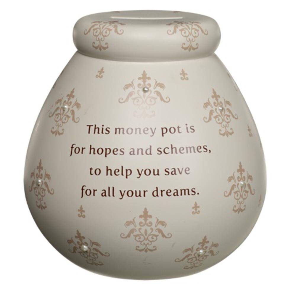 Fleur De Lys Pots Of Dreams Money Pot Gifts Love Kates