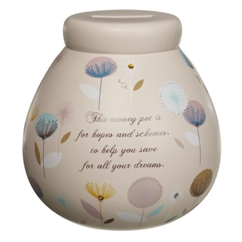 Dandelion flowers pots of dreams money pot gifts love for Dandelion flowers and gifts